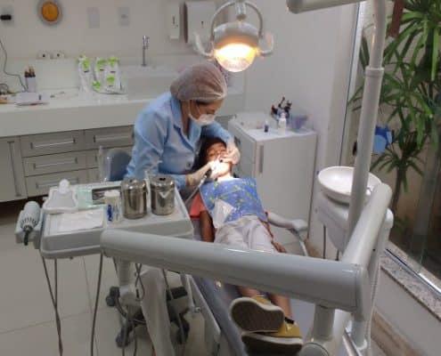 extracción de dientes en niños